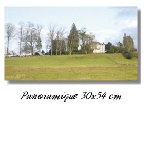 Panoramique 30x54